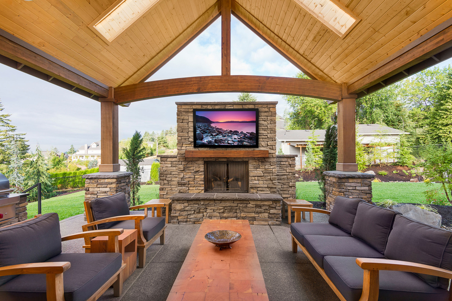 Bring Your Backyard to Life With a Complete Outdoor Entertainment System