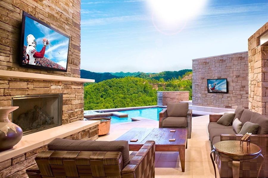 Beat the Texas Heat With Outdoor TVs